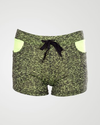 Image 1 of Womens Specky Pattern Hot Pants in color Mint from Noroze