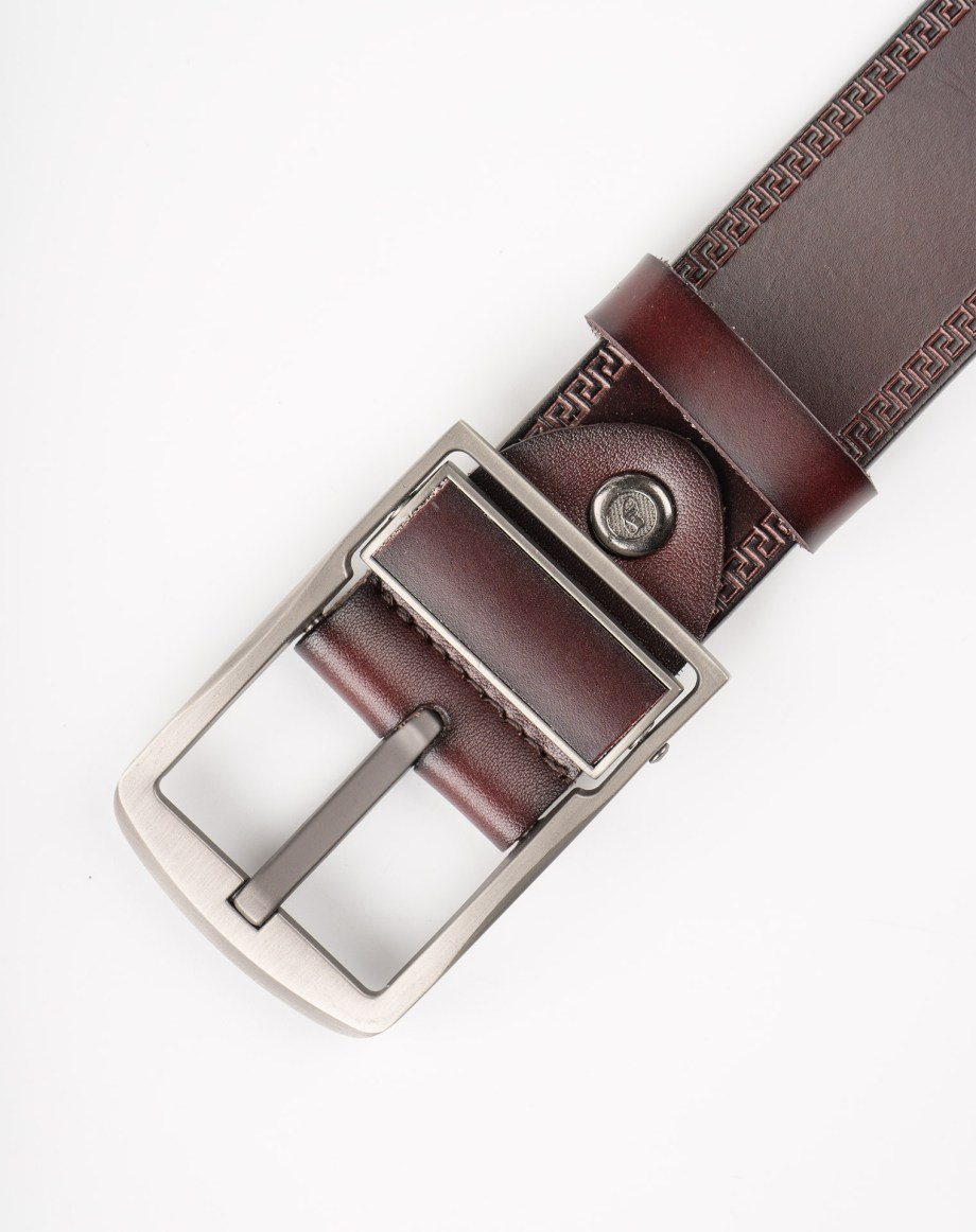 Image 8 of Mens Leather Belt of color Coffee from Noroze