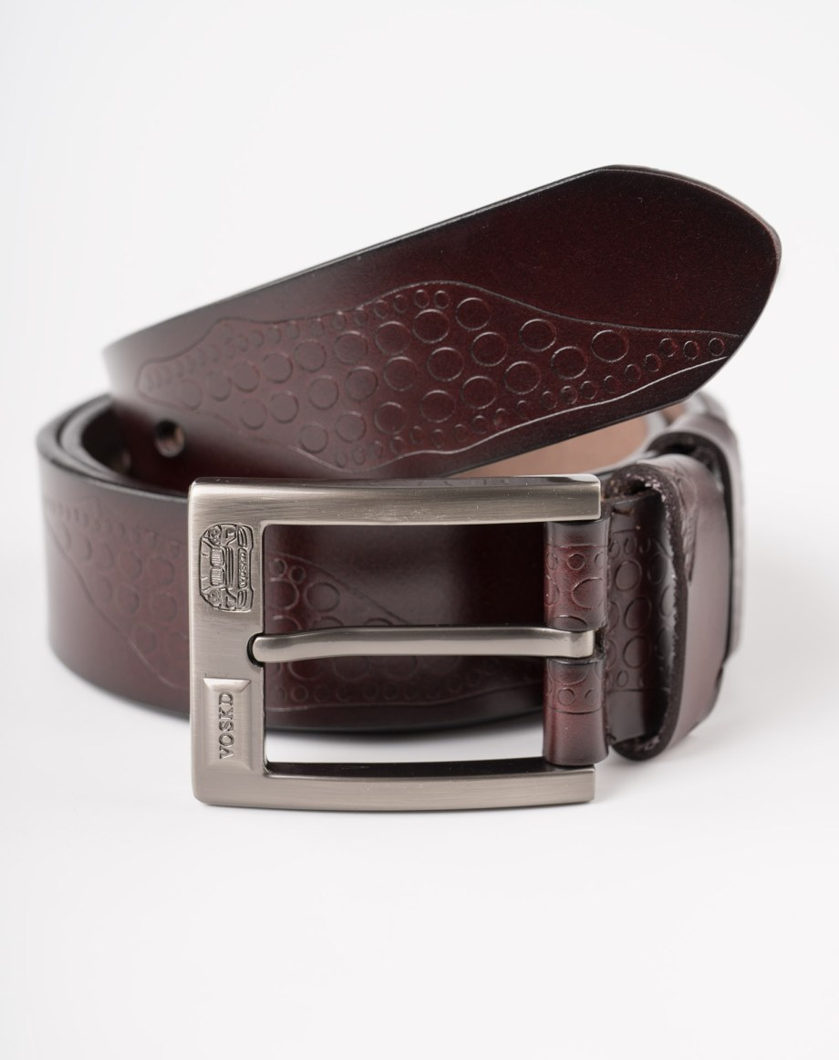 Image 2 of Mens Leather Belts of color Coffee from Noroze Brand