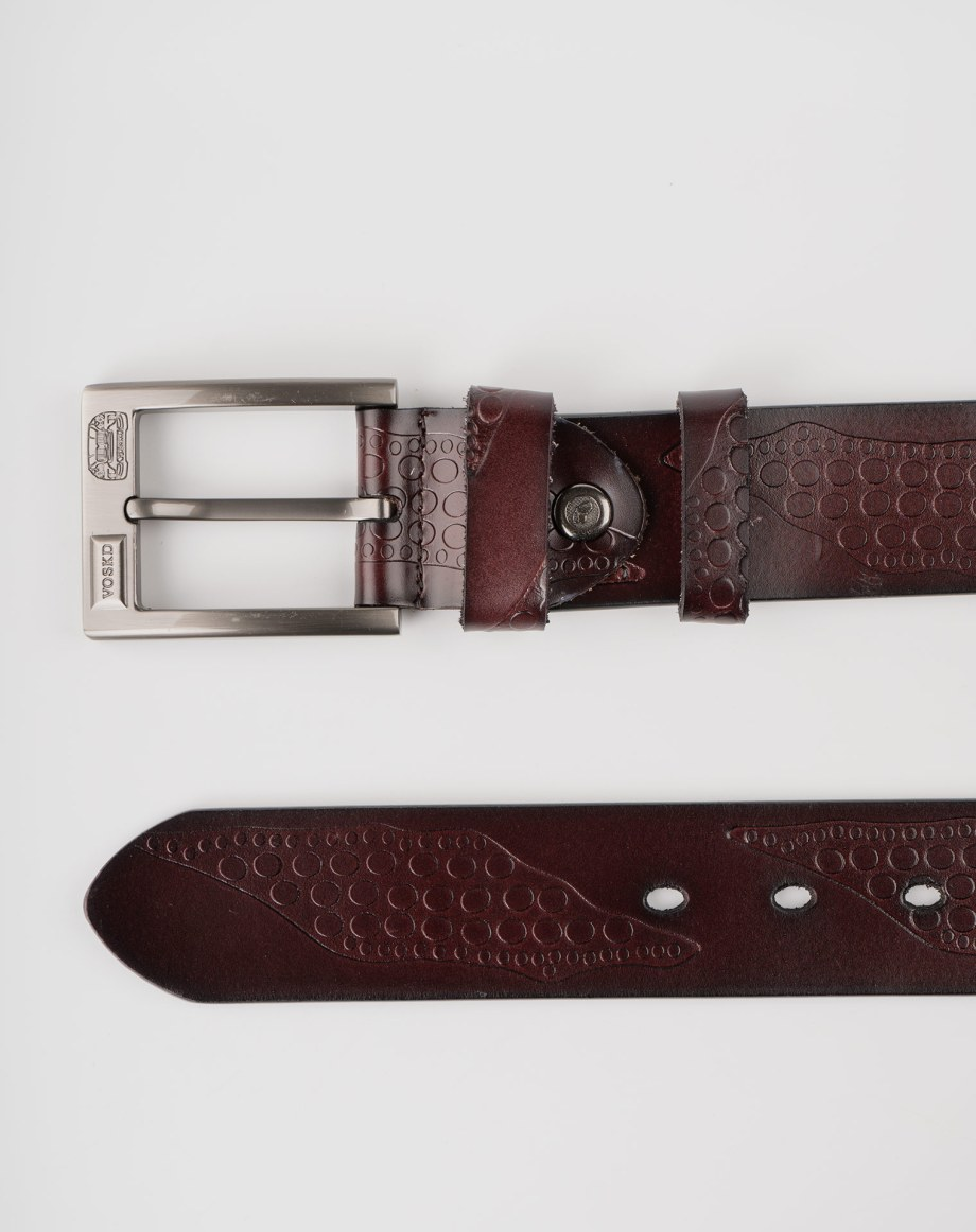 Image 8 of Mens Leather Belts of color Coffee from Noroze Brand