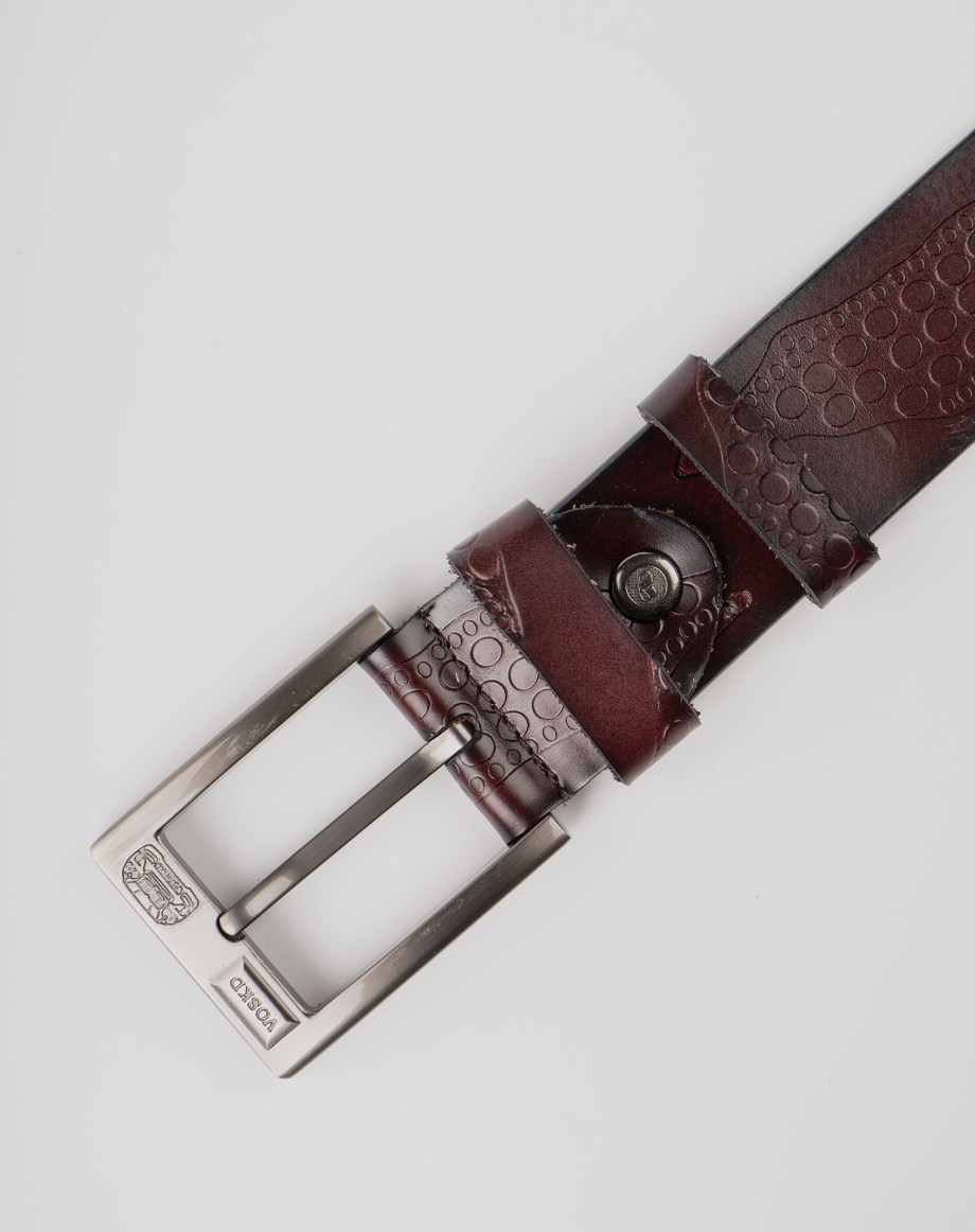 Image 7 of Mens Leather Belts of color Coffee from Noroze Brand