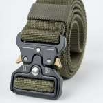 Image 1 of Tactical Quick Release Belt of color Green from Noroze