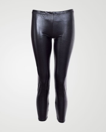 Image 1 of Girls Shiny Party Leggings color Black and sizes 7-8, 9-10, 11-12, 13 from Noroze