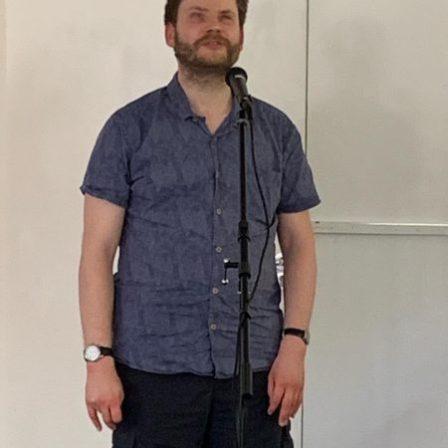 David wilkins giving a speech