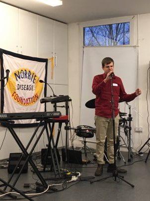 Anthony singing