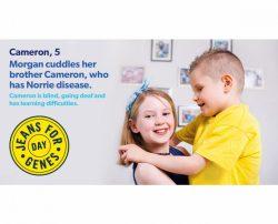 Cameron and his sister Megan
