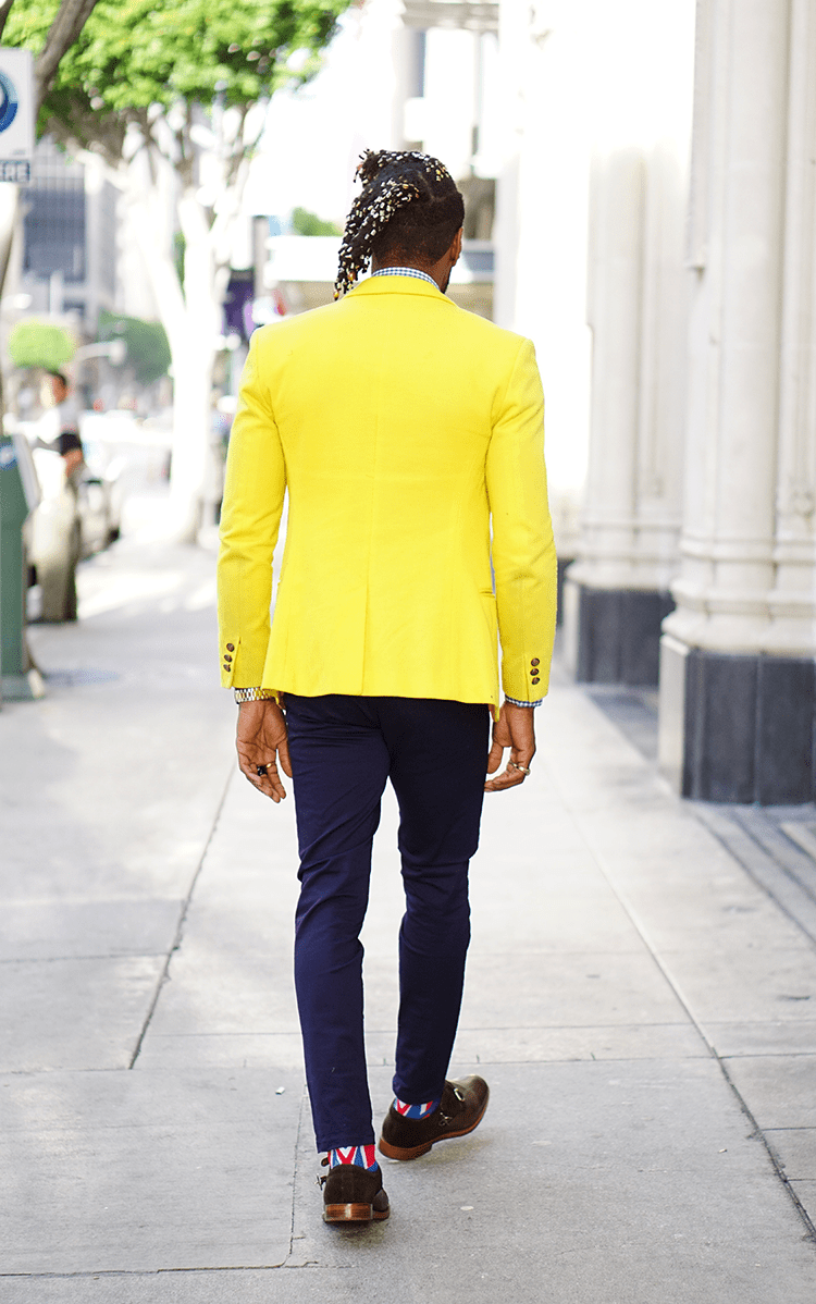 HOW TO DAPPER UP A YELLOW SPORTS COAT Norris Danta Ford