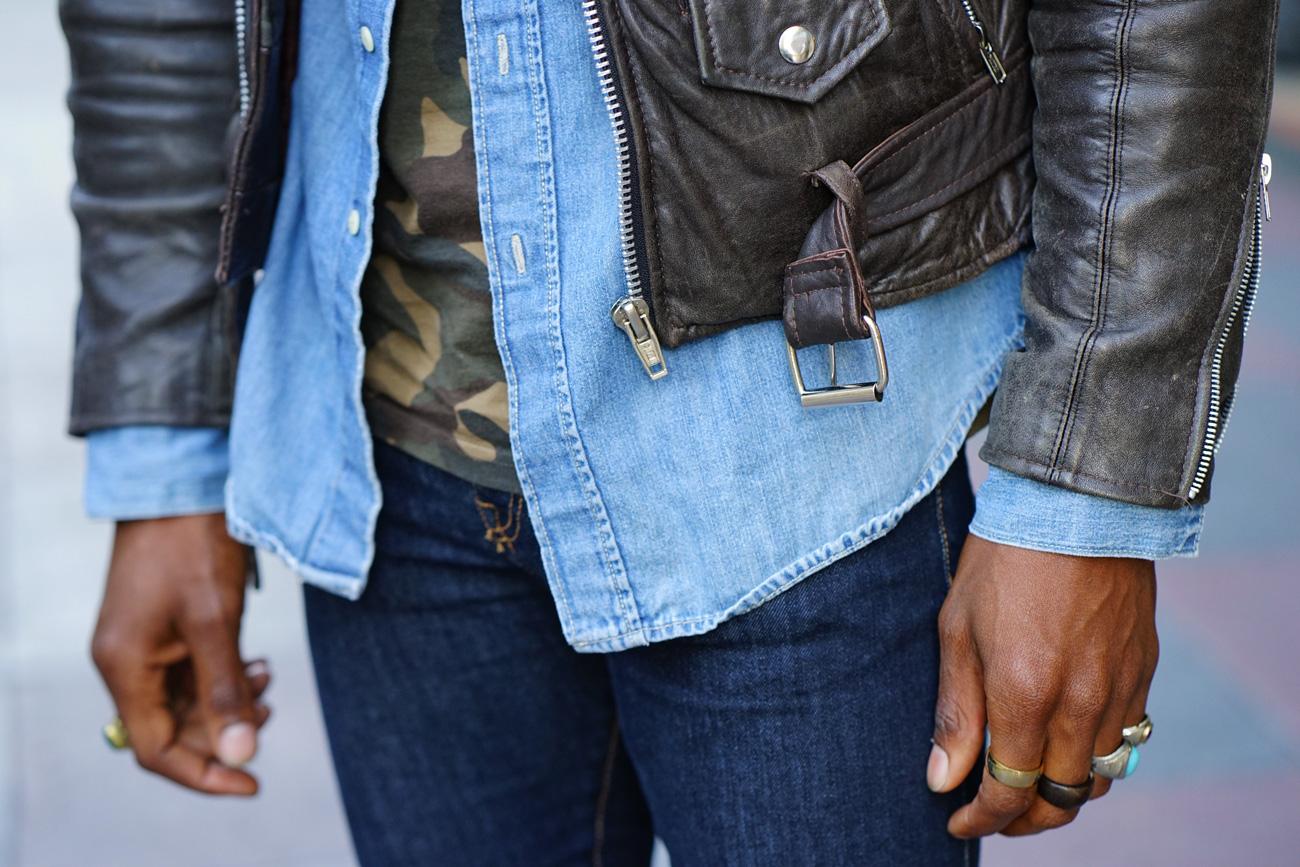 camo jacket mens fashion