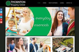 Website and graphic design, shoppng centre, Port Stephens, Hunter Valley, Newcastle