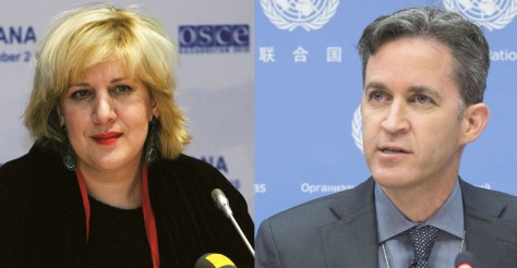Dunja Majatovic and David Kaye