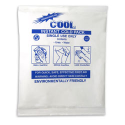 """COOL Instant Ice Pack, 5"""" x 7"""""""
