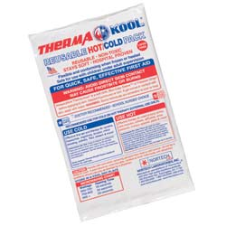 "ThermaKool Reusable Hot Cold Pack, Size: 6"" x 9"""