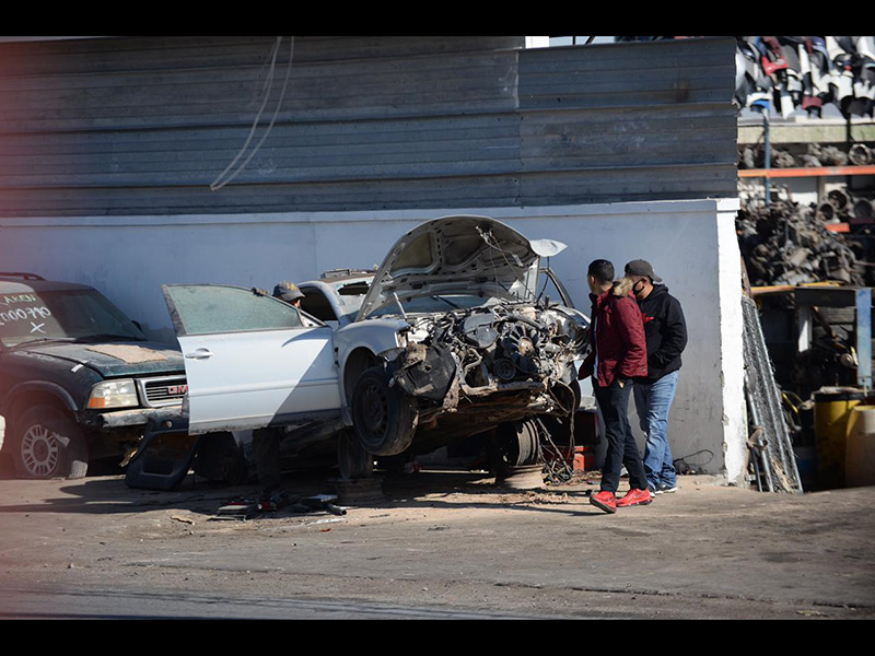 Juárez: La ciudad de la chatarra