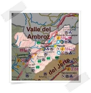 Comarca valle del Ambroz