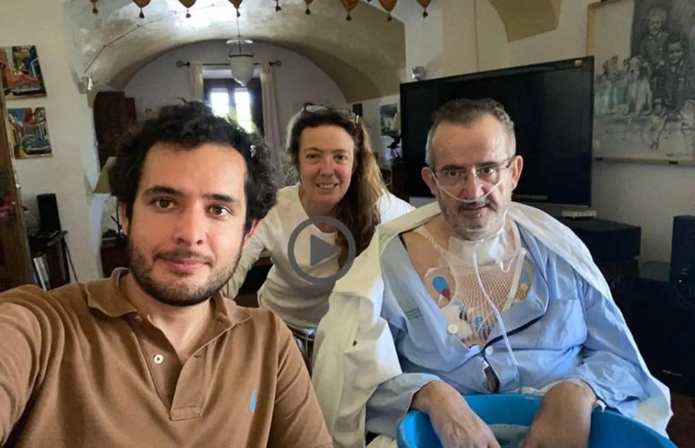 Alejo Leal el médico cacereño que pasó 53 días en la UCI