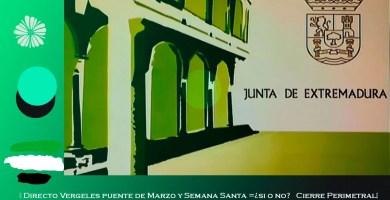 Directo Vergeles puente de marzo y Semana Santa