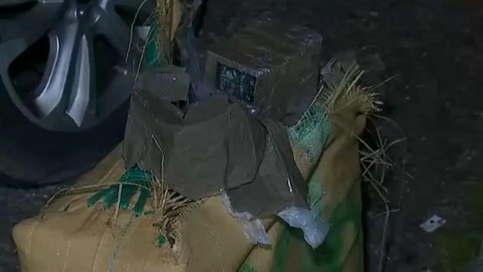 La Guardia Civil encuentra 400 kilos de hachís en un coche abandonado en Mérida