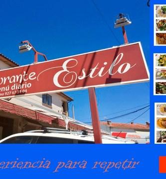 Restaurante Estilo Villasbuenas de Gata