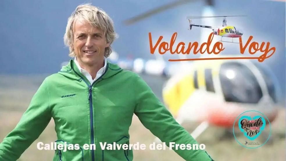 Callejas en Valverde del Fresno volando voy