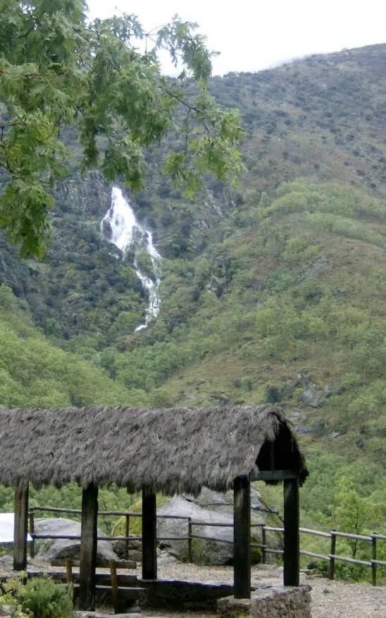 El Chorrero de la Virgen en el Valle del Jerte