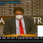 El día 27 Extremadura estará en situación de nueva normalidad