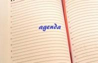 Agenda do Dia: Seg, 16 Abril