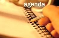 Agenda do Dia: Ter, 28 Nov