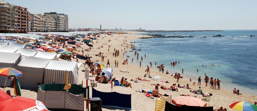 Agueiros: correntes junto à praia