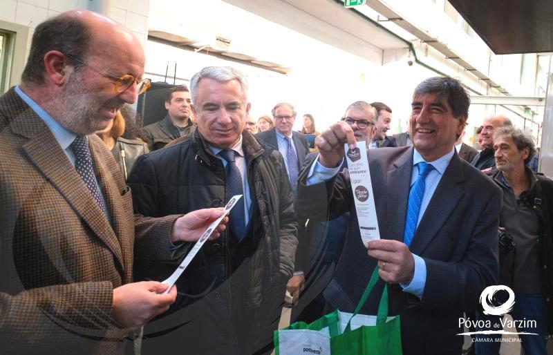 Ministro do Ambiente anuncia investimento na Póvoa