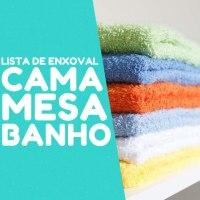 Lista de enxoval para casal: Cama Mesa e Banho
