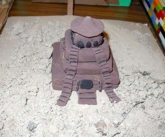 Clay Ziggurat