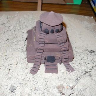 Clay Ziggurat