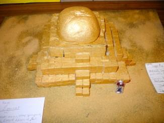 Sugar cube Ziggurat