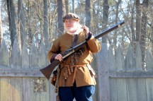 Jamestown Reenactor