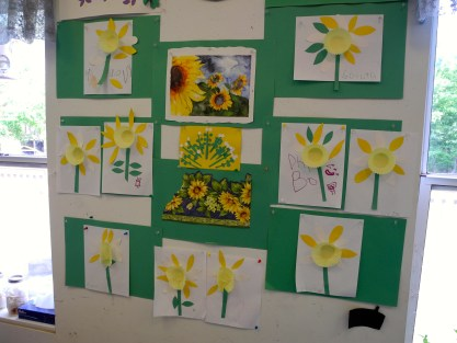 Daffodil art by nursery