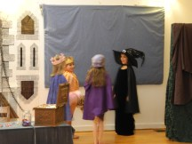 Making a bargain with the witch