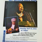 Dr. Levine & the Dreaded Blues Lady in concert this Saturday