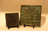 Little Traverse Tiles handcrafted at Sturgeon River Pottery