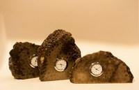 Petoskey Stone Clocks (Wall Hanging Available)