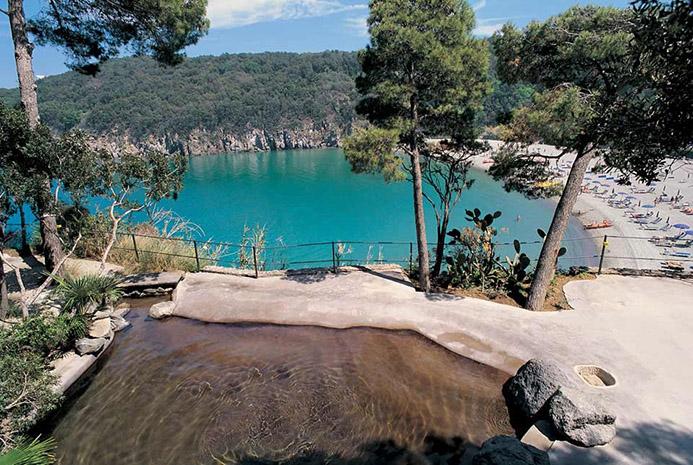 термы в Италии острова Искья