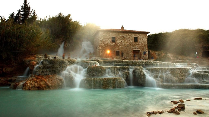 бесплатные минеральные источники в Италии Доломитовы Альпы