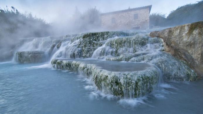 бесплатные термальные источники в Италии Термы Петриоло