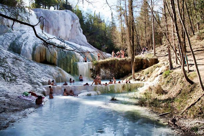 бесплатные термальные курорты в Италии на островах