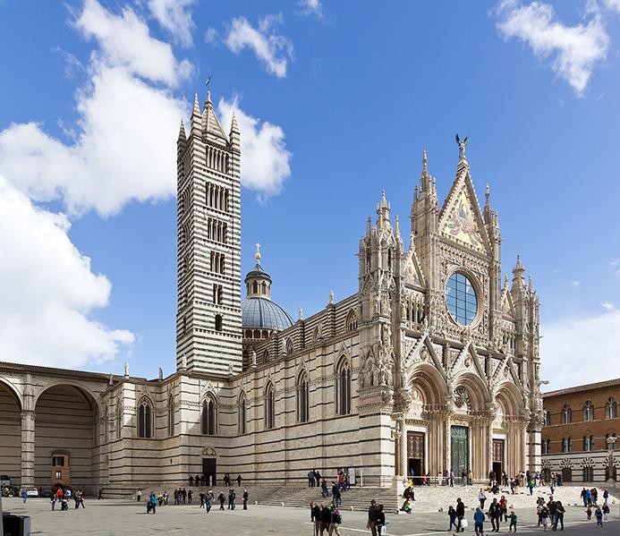 путешествие с детьми в Италии в Сиене