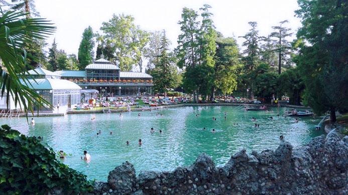 термальные источники в Италии на озере Гарда вилла деи Чедри (villa dei Cedri)