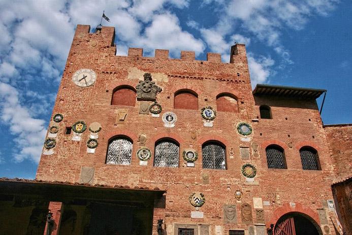готовый маршрут в Италии Тоскана