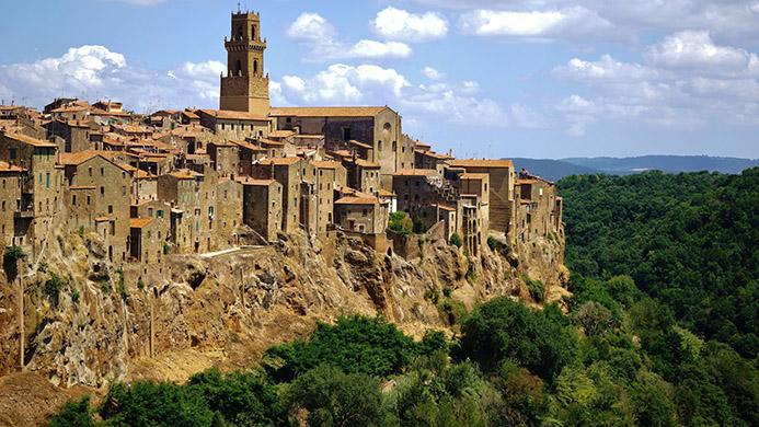 итальянский Иерусалим самостоятельный тур Тоскана