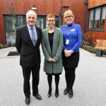 St Kentigern Hospice and Edward Hughes Solicitors strengthen ties after £2.5m revamp