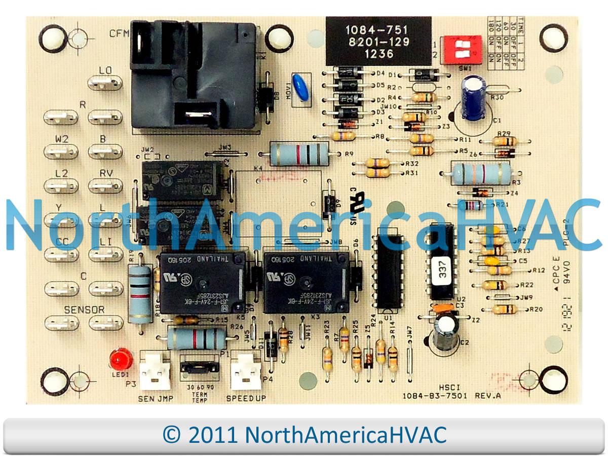 OEM Bard Heat Pump Defrost Control Circuit Board 1084-751