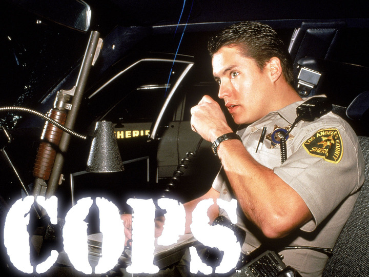 Unscripted and unrehearsed, using neither actors nor reenactments, COPS has taken viewers inside the squad cars, locker rooms, back alleys and jail cells of law enforcement agencies in over 63 different cities in the United States since its debut in 1989. ©1998 FOX BROADCASTING COMPANY  CR:FOX